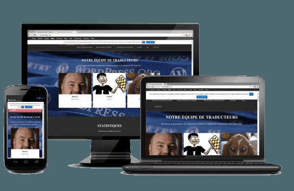 Le site WP Traduction a été créé avec WordPress par Bruno Tritsch