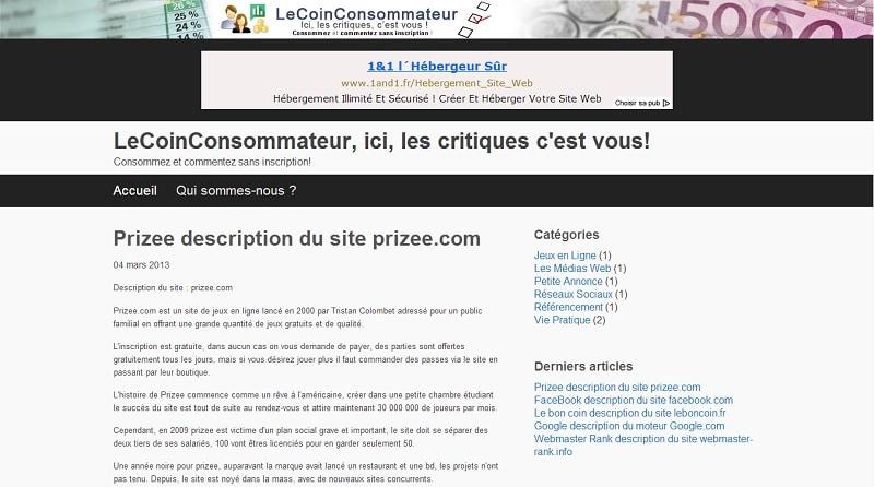 Site d 39 avis le coin consommateur - Voyage prive avis consommateur ...