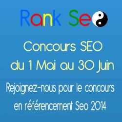 Bannière du concours RankSeo.fr