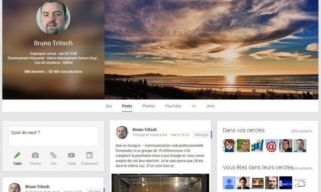 Google Plus et le référencement
