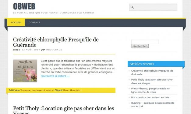 Traduction en français du thème WordPress Living Journal