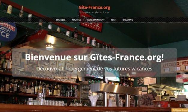 Traduction en français du thème Sunrise pour WordPress