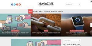 Thème WordPress Magazine traduit en français par Bruno Tritsch
