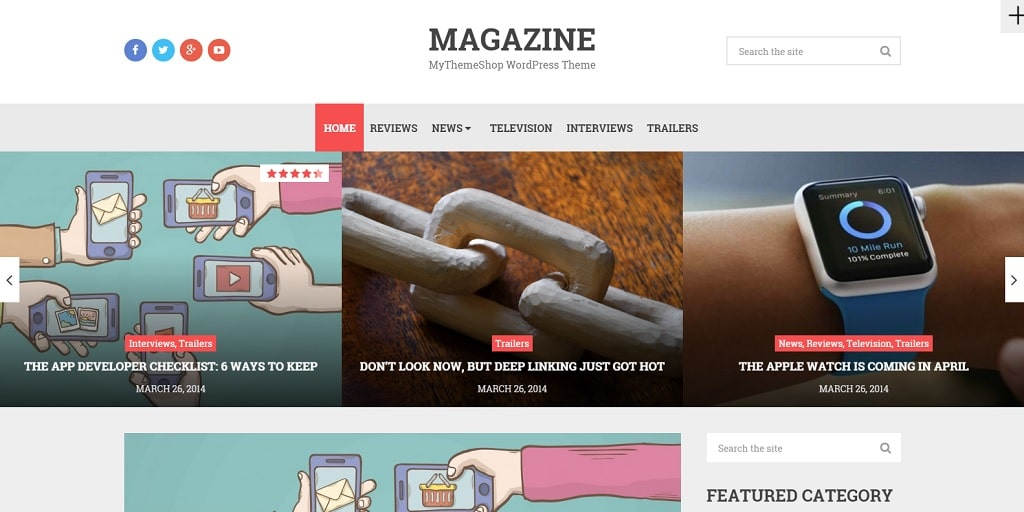 Le thème premium WordPress Magazine a été traduit en français par Bruno Tritsch.
