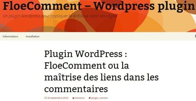 Pourquoi supprimer FloeComment et CommentLuv de mon WP?