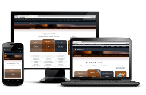 Hébergement web de qualité Monarobase