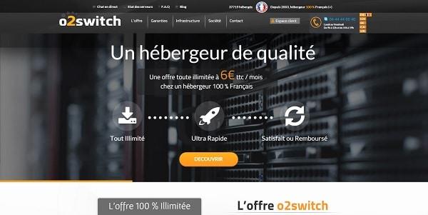 O2switch, un hébergeur français qui a le sens du service client.