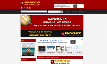 Présentation de l'annuaire généraliste Supernova V2