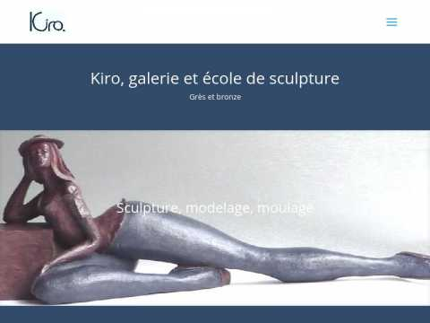 Le site www.kiro-sculpture.com a été réalisé avec le thème Divi pour WordPress traduit en français.