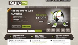 Plans d'hébergement low cost d'Euro Wh