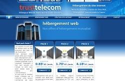 Hébergement low cost Trust Telecom