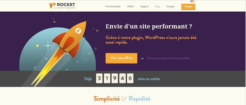 Exemple d'amélioration de vitesse de chargement d'un WordPress multisite avec WP Rocket
