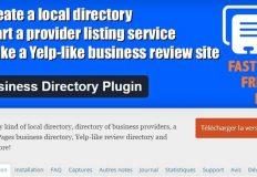 Modification de l'url de soumission du plugin Business Directory
