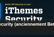 Tutoriel vidéo de paramétrage du plugin iTheme Security