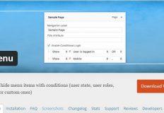 Créer un menu conditionnel pour son WordPress