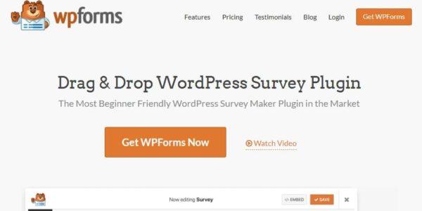 Pourquoi je vous recommande WPForms Surveys and Polls Addon pour réaliser des sondages avec WordPress?