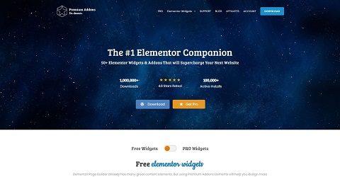-10% sur Premium Addons For Elementor Pro